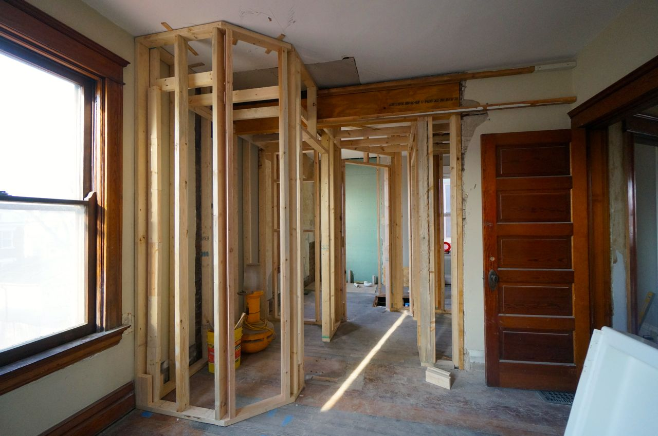 Framing 1407 Chase The Square House