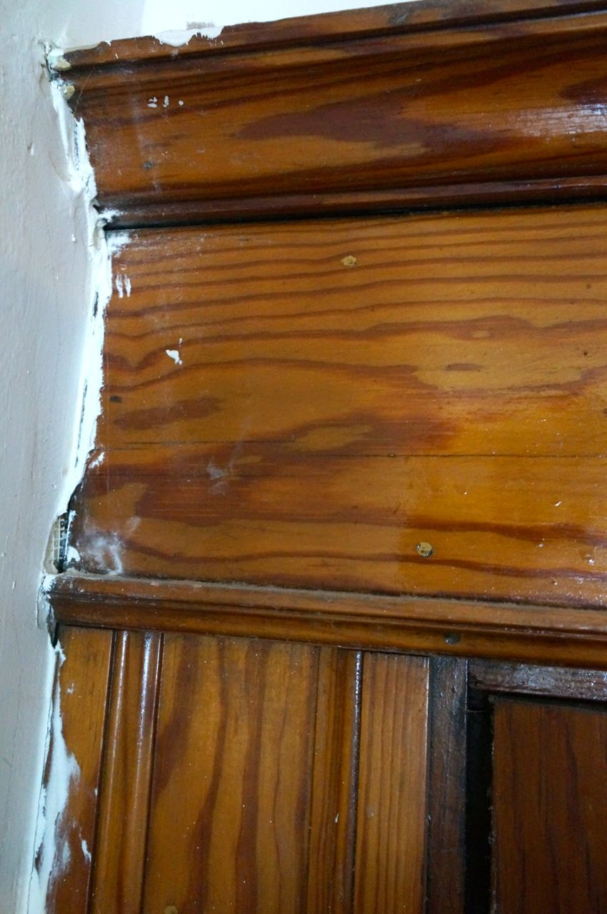 Wood Finish Restoration 1 1407 Chase The Square House