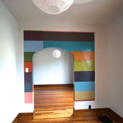 front bedroom suite: Paige Williams
